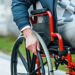 wheel chair accident